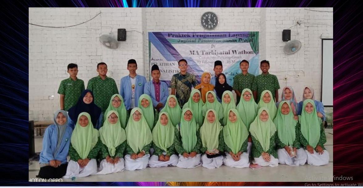 PPL INSUD selenggarakan pelatihan jurnalistik di MA Tarbiyatul Wathon